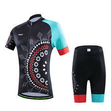 Women Bicycle Jersey Bike Clothing Padded Shorts Cycling Wear Uniforms Size S-2X