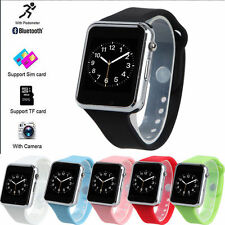 Bluetooth Wrist Smart Watch Phone Mate For Android Iphone SIM Pedometer Facebook