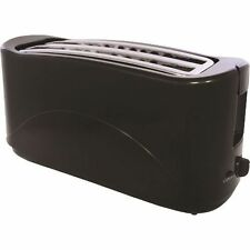 2 / 4 SLICE ELECTRIC BREAD TOASTER TWIN SLOT KITCHEN SLIDE OUT CRUMB TRAY NEW