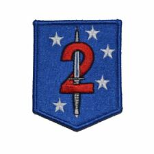 2d Marine Raider Battalion Patch Hook Backing MarSOC Shield USMC