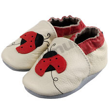Cute 0-24M Baby Soft Sole Leather Slip-on Shoes Infant Boy Girl Toddler Moccasin