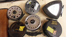 SCARCE VINTAGE JOBLOT 6x REELS ABU TRIANGLE shakespeare alpha rimfly dam others