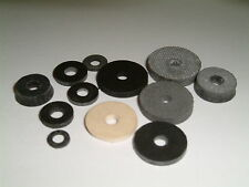 M3 Rubber Washers- Choose from 12 different sizes, 20 per pack