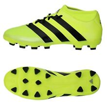 Adidas Men Cleats ACE 16.3 HG Prime-mesh Soccer Football Lime Shoes Boots AQ3415