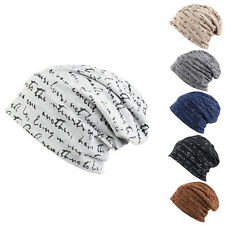 MEN'S WOMEN'S FASHION HIP-HOP WARM WINTER COTTON SKI BEANIE SKULL CAP HAT COMFY
