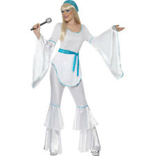 Super Trooper Pop Star Disco 1970s Adult Womens Ladies Fancy Dress Costume 33483