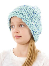 Barts Beanie Knitted Cap Winter hat blau Fleece lined insulating