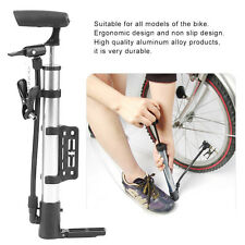 Mini Aluminum Alloy Bicycle Manual Pump Lightweight Bike Cycling Air Pump JQ