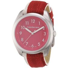Calvin Klein Red Impulse Mens Analog Casual Red Watch K5811191 K5811141 K5711144