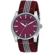 Calvin Klein Variance Mens Analog Casual Red Watch K5711144 K5811141 K5811191