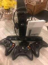 Microsoft Xbox 360 with Kinect 4GB Black Console (PAL)