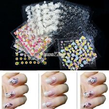 Hotsale S0BZ Nail Art Decoration 30/50 Sheets 3D Nail Art Tips Decal Stickers01