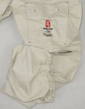 NEW Beijing 2008 Olympics Embroidered Mens Convertible Cargo Pants Sz. 30-32