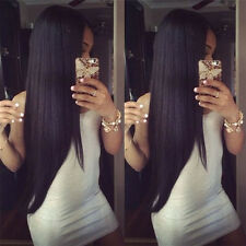 Real Thick Peruvian Virgin Human Hair Lace Front Wig Unprocessed Full Lace Wig t