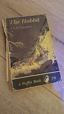 TOLKIEN: THE HOBBIT -  Rare FIRST ever paperback edition (Puffin Books 1961)