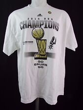 San Antonio Spurs Men's XL 2014 NBA Championship Locker Room T Shirt adidas NBA