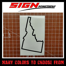 Idaho State Outline Decal, Sticker