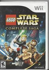 Nintendo Wii Lego Star Wars The Complete Saga by LucasArts