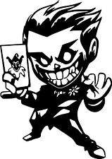 Vinyl Decal Truck Car Sticker Laptop Window  - DC Batman Chibi Joker