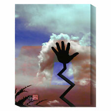 Global Gallery Cloud Hands by Suzanne Silk Graphic Art Print on Canvas