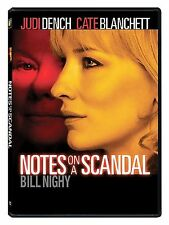 Notes on a Scandal (DVD, 2009) BRAND NEW AND FACTORY SEALED