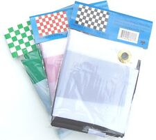 3'x5' POLYESTER CHECKERED RACING FLAGS  (NEW)