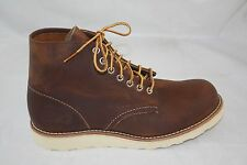 "Mens RED WING Boots 6"" Inch 09111-1  Classic Moc Cooper Rough And Tough ALL SIZE"