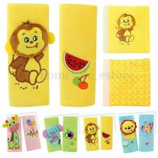 Baby Cartoon Harness Safety Cushion Auto Car Seat Strap Belt Shoulder Cover Pads
