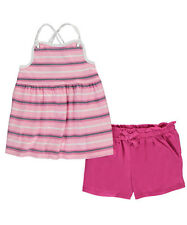 "Nautica Little Girls' Toddler ""Anchored Stripes"" 2-Piece Outfit (Sizes 2T - 4T)"