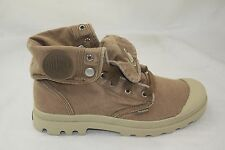 MEN'S PALLADIUM FOLDED BAGGY CASUAL CANVAS BOOT EXPRESSO/PUTTY 02353281