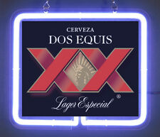 Dos Equis Cerveza Lager Logo New Brand New Neon Light Sign