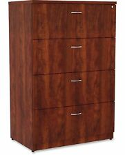Lorell Essentials 4-Drawer Lateral Filing Cabinet