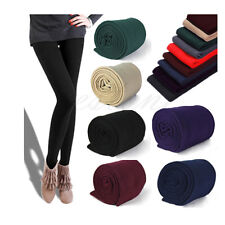 Womens Slim Leggings Fashion Stretch Pants Footless Skinny New Thick Warm Winter