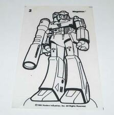 Megatron Shrinky Dink Hasbro  G1 Transformers Action Figure