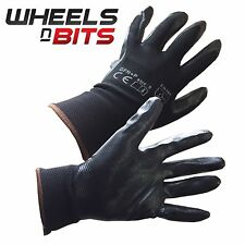 NEW 12, 24, 36 PAIRS FOAM NITRILE COATED WORK GLOVES CONSTRUCTION GARDARDENING