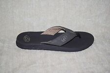 MENS REEF SANDALS / FLIP FLOPS BROWN - SEE SIZES (76)
