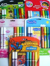 CHARACTER - SECRET MESSAGES SET (with Notepad & 6 Pens)