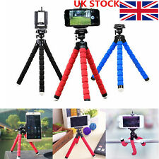 UK Stock Portable Octopus Stand Tripod Flexible Mount Holder iPhone Cell Camera