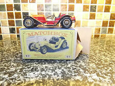 MATCHBOX y-7 1913 mercer raceabout near mint box yellow