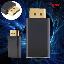 New Display Port DP Male To HDMI Female Adapter Converter Adaptor for HDTV YBMJ