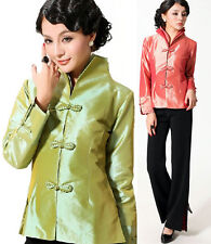 Chinese Traditional Style Women's Jacket Coat Outerwear M L XL XXL 3XL