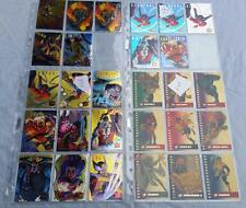 Marvel X Men 1995 Trading Cards  Choose from a selection of Chase Insert Cards