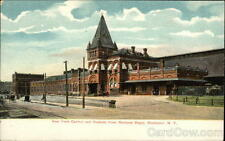 Rochester NY New York Central and Hudson River Railroad Depot Monroe County PC