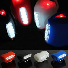 NEW Bike Bicycle Cycling 7 LED Silicone Front Lamp Safety Warning Head Light