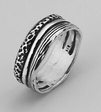 Women Hand Crafted 925 Sterling Silver SHABLOOL Ring Band Style