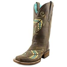 Corral A3311 Women  Square Toe Leather Brown Western Boot