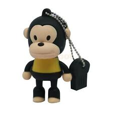4-32 GB Monkey Cartoon Pen Drive U Disk Gift Flash Stick Memory for Laptop