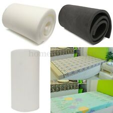 "79"" / 82"" High Density Seat Firm Cushion Upholstery Foam Rubber Replacement Pad"