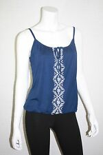 NEW OLD NAVY WOMENS EMBROIDERED BUBBLE KNIT CAMI TANK TOP SIZE  XS, M, L, XL XXL