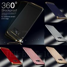 Ultra thin Shockproof Armor Hard PC Case For Samsung Galaxy S6/S7 Edge/S8+ Cover